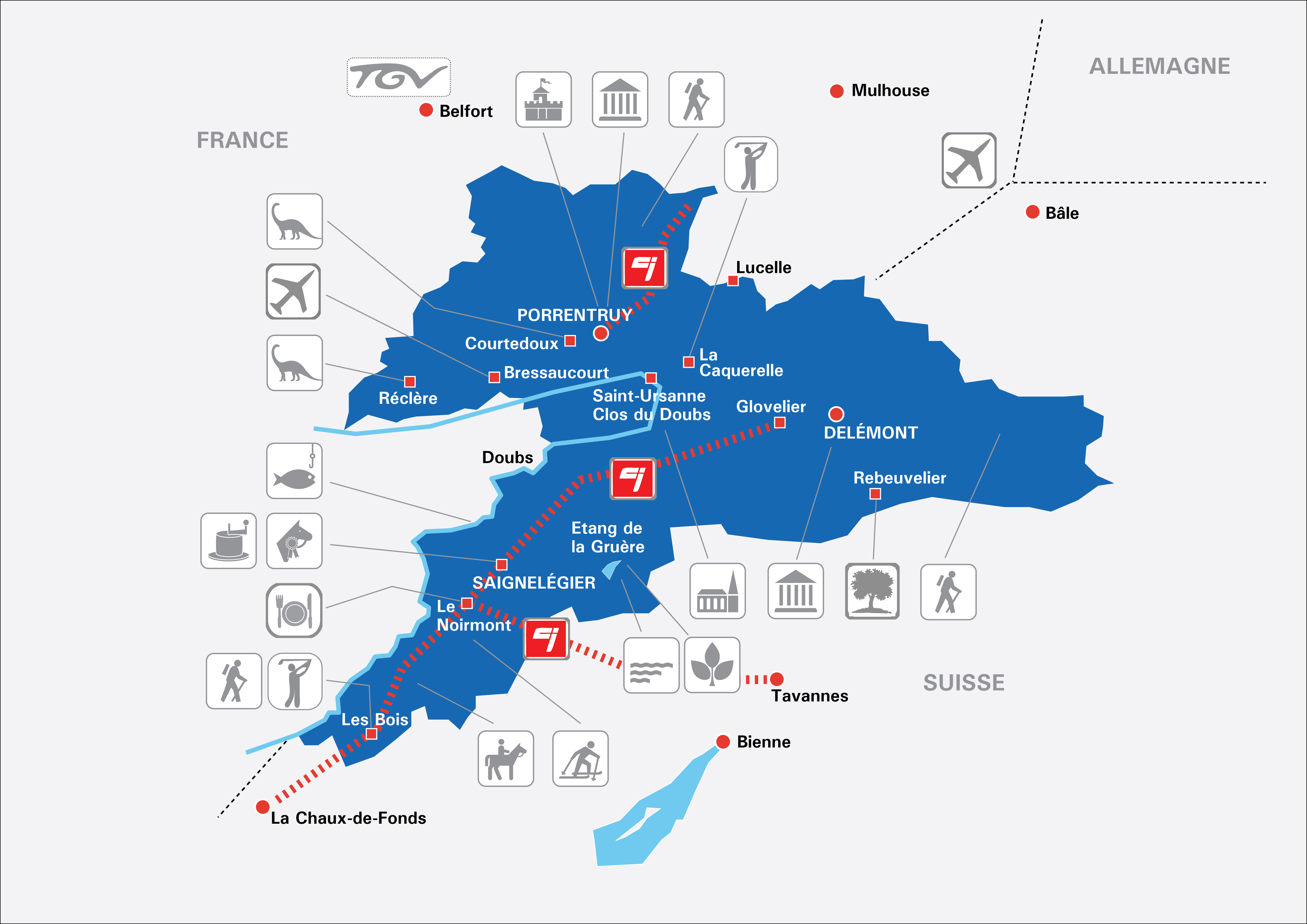 emploi tourisme jura suisse