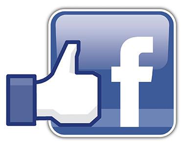 logo facebook pour carte de visite