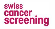 Logo Swiss Cancer Screening