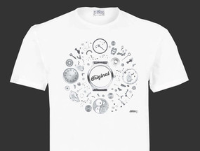 T-Shirt Jura l'original - Version horloge