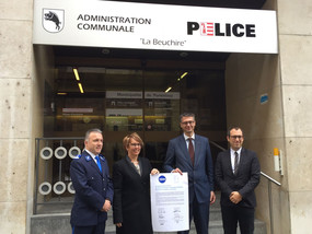 Collaboration entre polices cantonale et municipale à Porrentruy - Inauguration du 11.11.2016