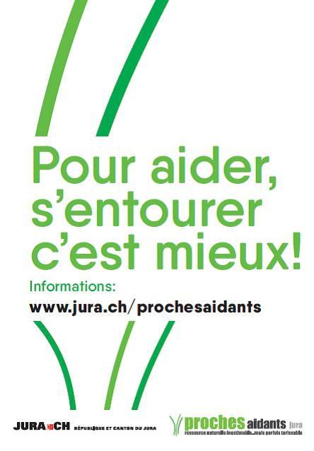 Proches Aidants Carte Distribue Aux Communes Et Professionnels De La Sant Au Jura