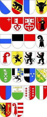 Tous les cantons suisses