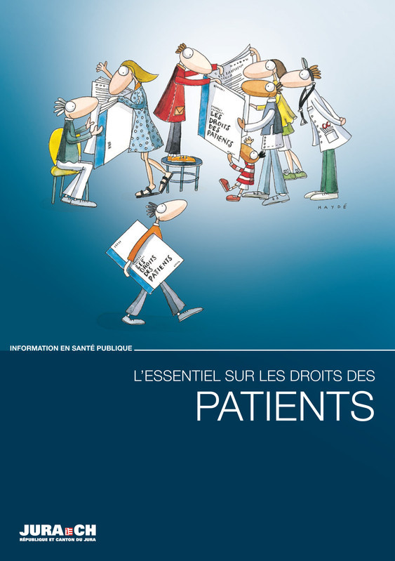 Couverture brochure droits des patients