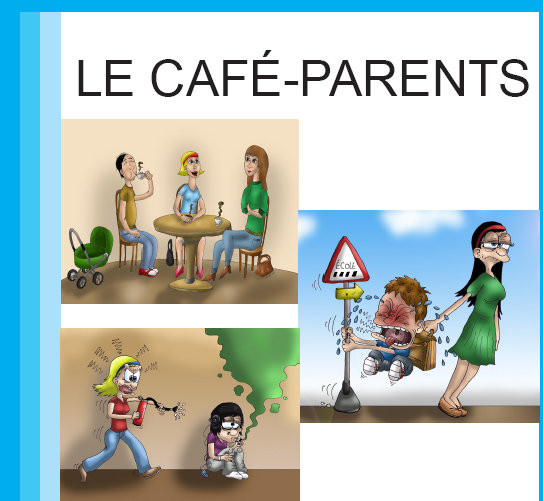 Flyer café parents